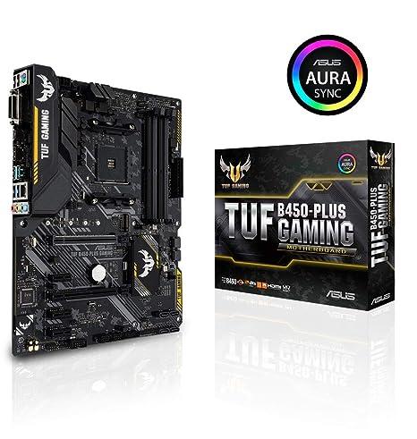 Amazon.com: ASUS TUF B450-Plus - Placa base para juegos (ATX ...