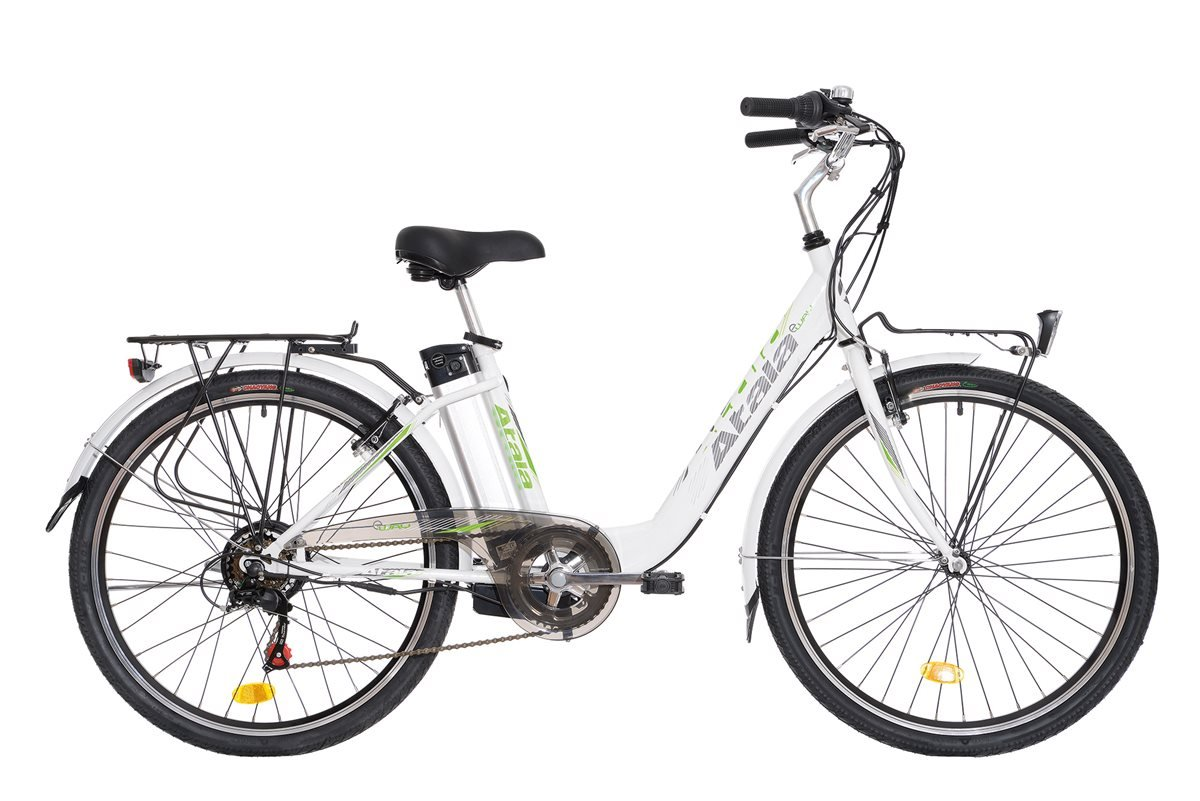 Atala - Bicicleta eléctrica de ciudad (E-Bike, E-way), de 26 pulgadas, 6 velocidades, talla 41, motor Brushless (sin escobillas), 24V, 250W: Amazon.es: ...