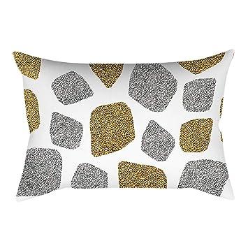 Winkey - Funda de cojín Rectangular para sofá o Coche, 30 x 50 cm