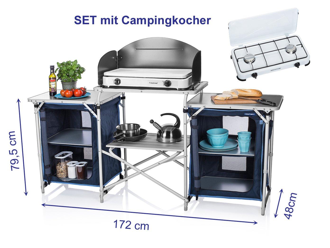 XXL stabile Campingküche faltbar - zum OUTDOOR KOCHEN - im ...