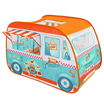 Childrens Pop Up Play Tent Designed like a Food Truck/Ice Cream Van Girls  sc 1 st  Amazon UK & Childrens Pop Up Play Tent Designed like a Food Truck/Ice Cream ...