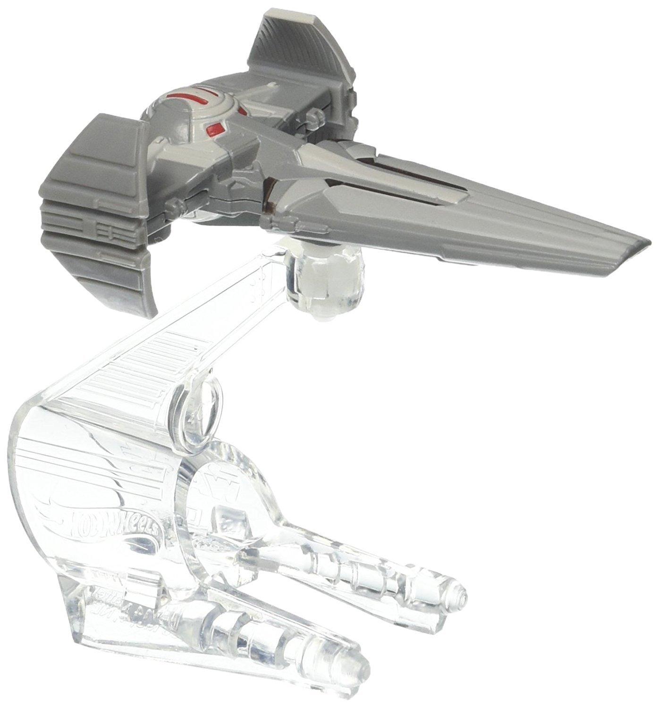 Hot Wheels Star Wars Sith Infiltrator Starship MATTEL