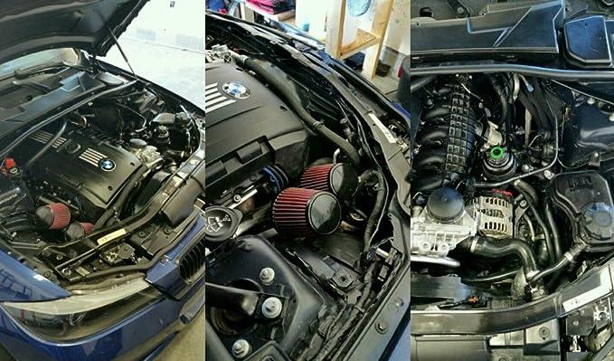 vrsf ingesta de entrada de gran caudal Kit N54 07 - 10 BMW 335i/08 - 10 BMW 135i: Amazon.es: Coche y moto