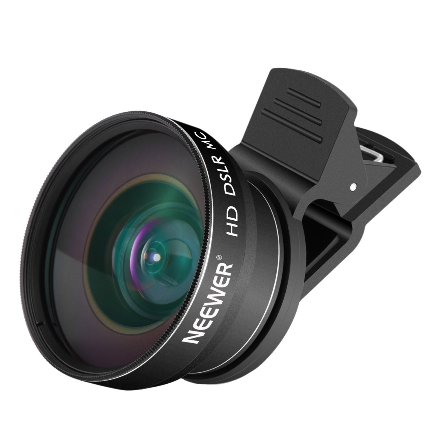 Neewer 2-in-1 Cellphone Lens Kit - 0.43x Wide Angle and 10x Macro Clip-on Cellphone Camera Lens Kit for Android Smartphones and iPhone such as iPhone 7 plus,6s,6s Plus,6 Plus,Samsung Galaxy S6,S6 Edge