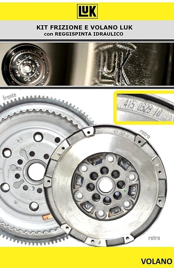 Kit Embrague + Volante bimassa Original LUK 622 3135 33 + 415 0329 10: Amazon.es: Coche y moto