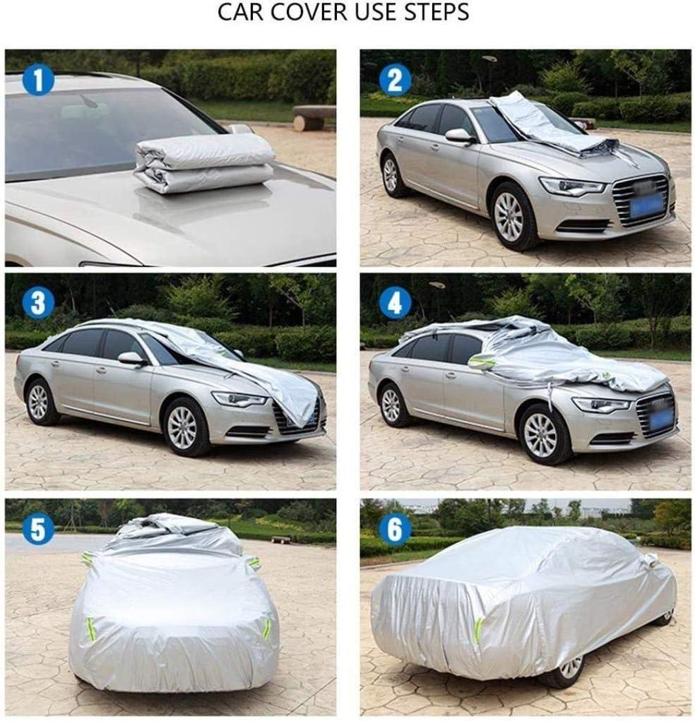 Housse De Protection Compatible Avec BMW X6 Car Cover Pluie Protection Contre Le Soleil Poussi/ère Antigel Oxford Isolation Tissu /Épaississement Car Cover B/âche Color : Black