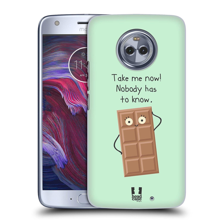 Head Case Designs Seducción De Chocolate Pequeña Dosis De Disparates Y Aleatoriedad Caso Duro Trasero para Motorola Moto E (1st Gen): Amazon.es: Electrónica