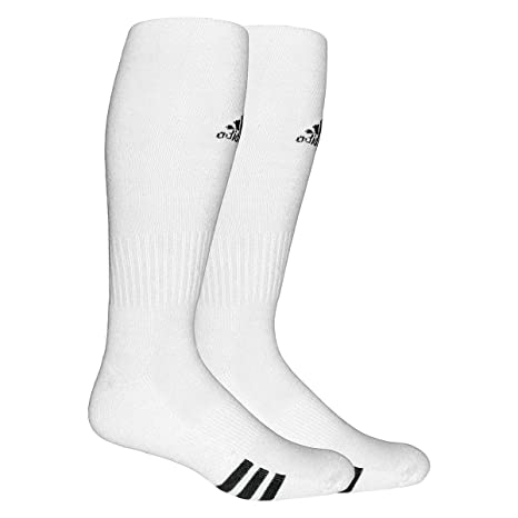 Adidas Rivalry fútbol OTC calcetines (lote de 2) - 102932, Blanco/Negro