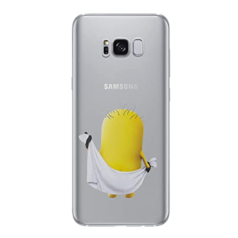 samsung galaxy s6 edge coque silicone minion