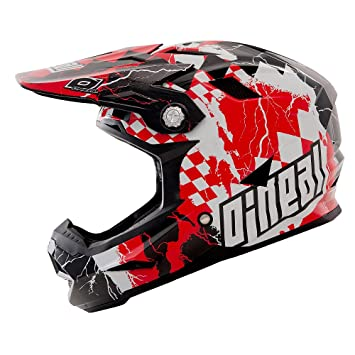 O\neal - Casco ONeal Airtech AT-1 Fidlock Checkered Red