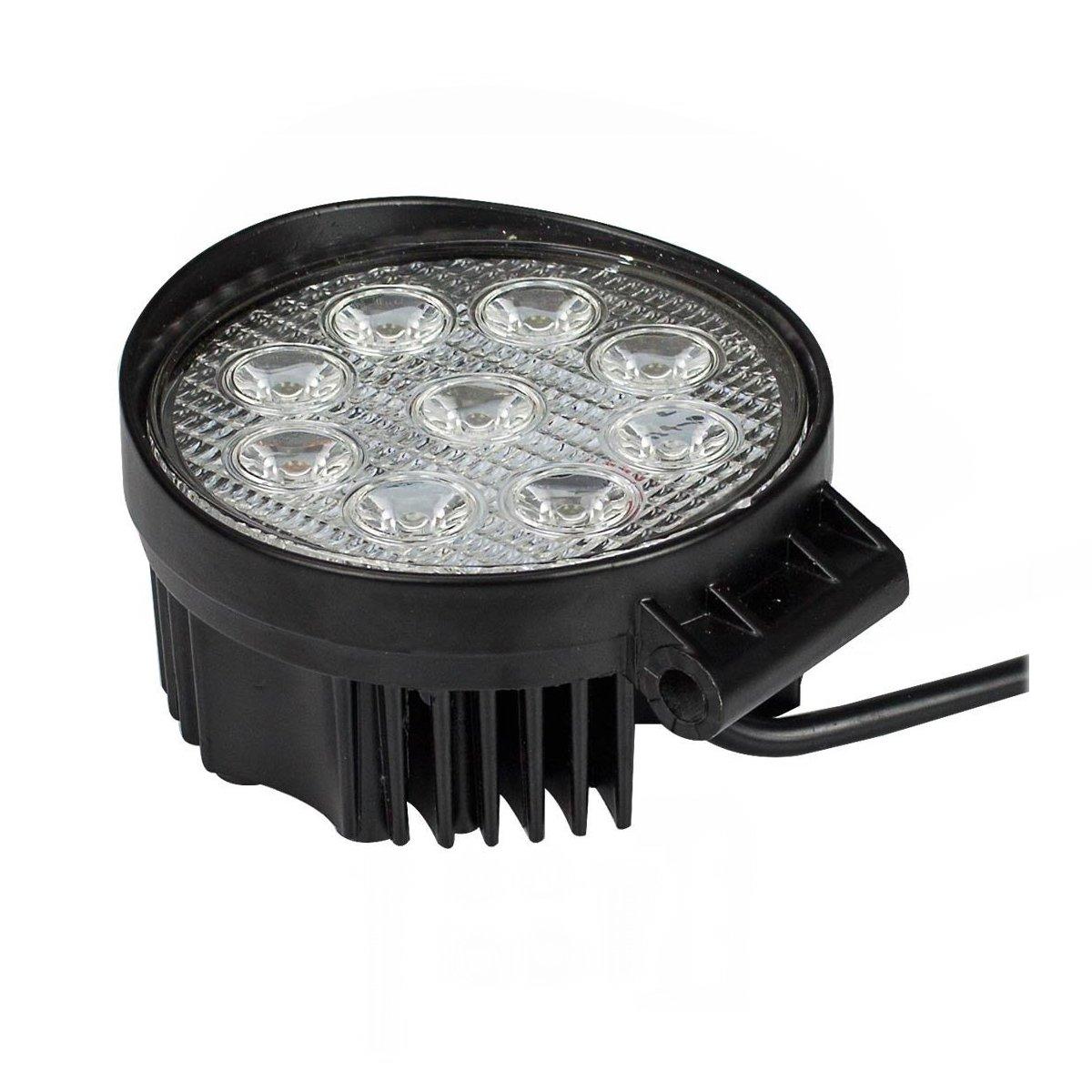 SAILUN 4 x 48W FARO DA LAVORO LUCE DI PROFONDITA A LED Piazza Offroad Proiettore Riflettore Worklight 1600LM Pressofuso in alluminio nero IP67
