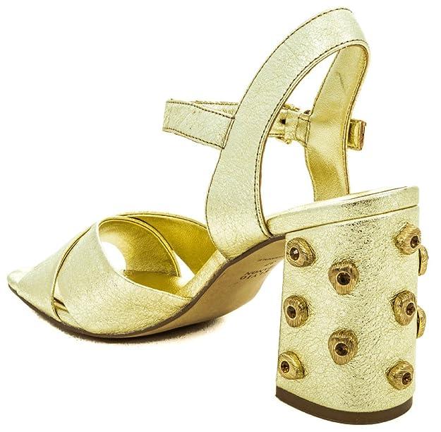 Zapatos H5403p Crackele es Amazon Complementos Elvio Oro Y Zanon SYxwEqA
