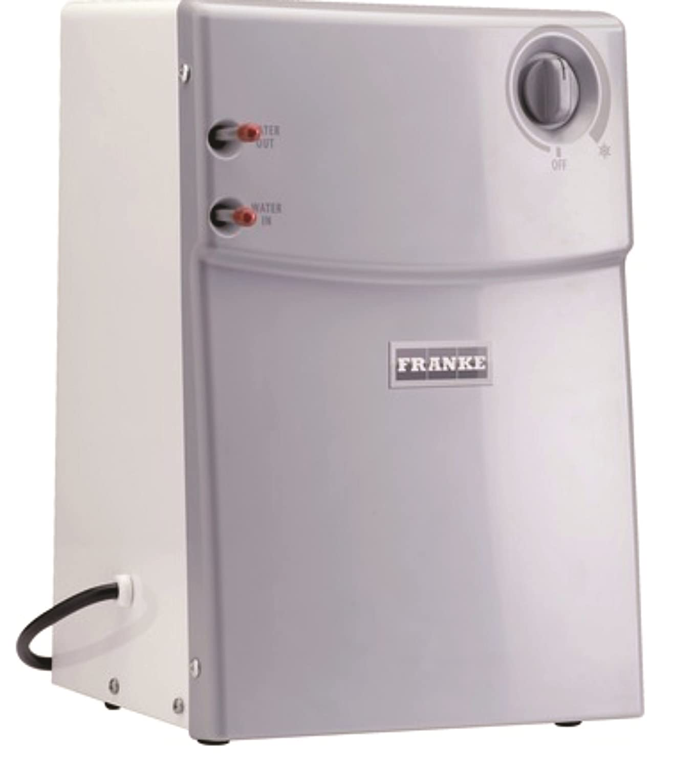 Franke CT-200 Little Butler Under Sink Filtration Cold Water Chiller Tank, White, Large Stainless Steel