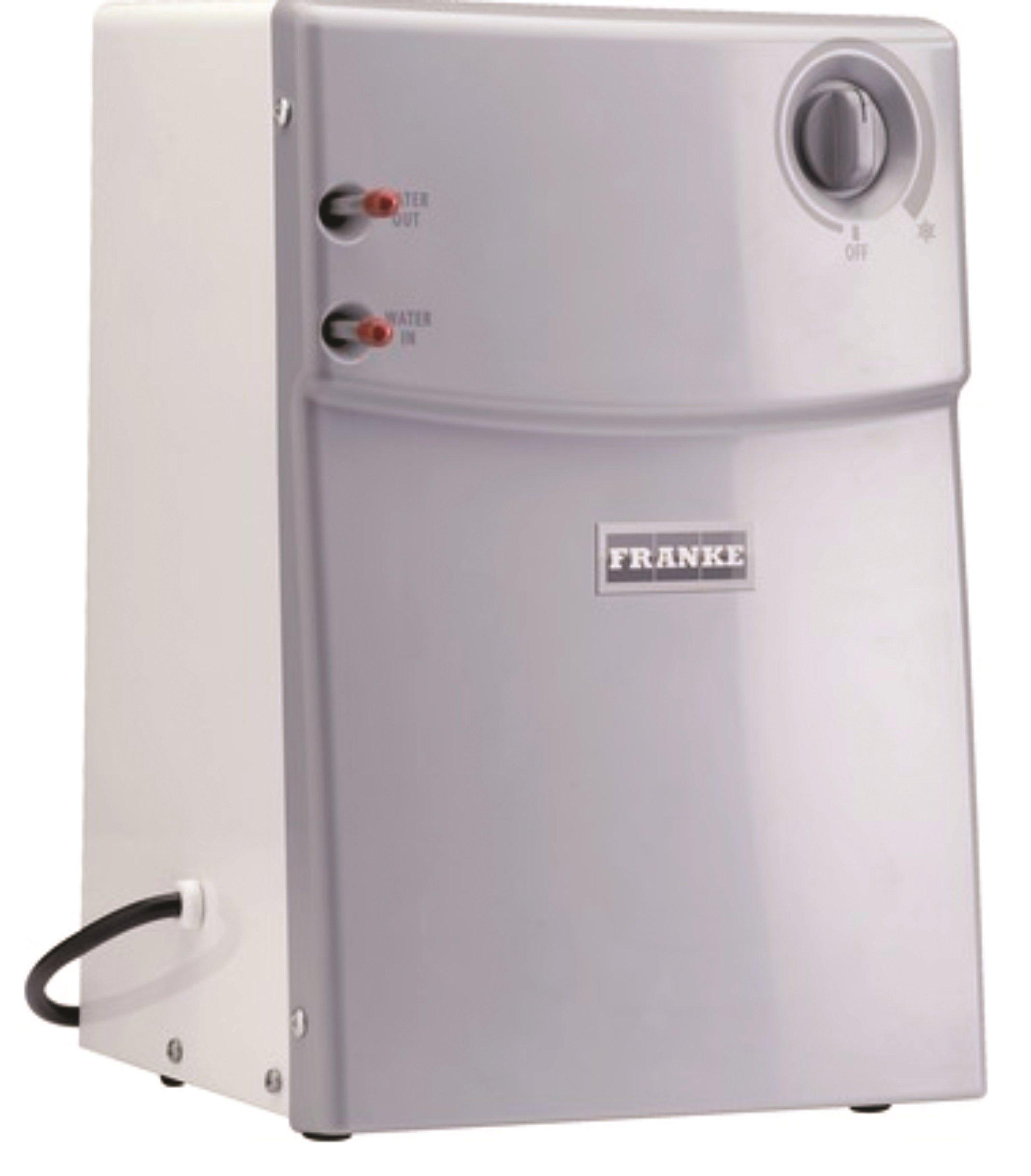 Franke CT-200 Little Butler Under Sink Filtration Cold Water Chiller Tank, White, Large, Stainless Steel
