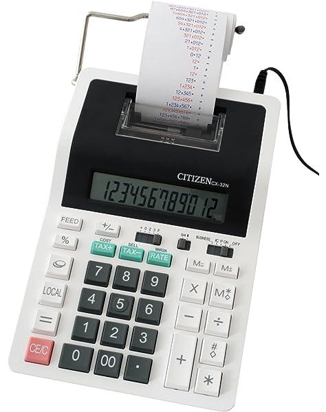 Calculadora CX-32 Citizen: Amazon.es: Oficina y papelería