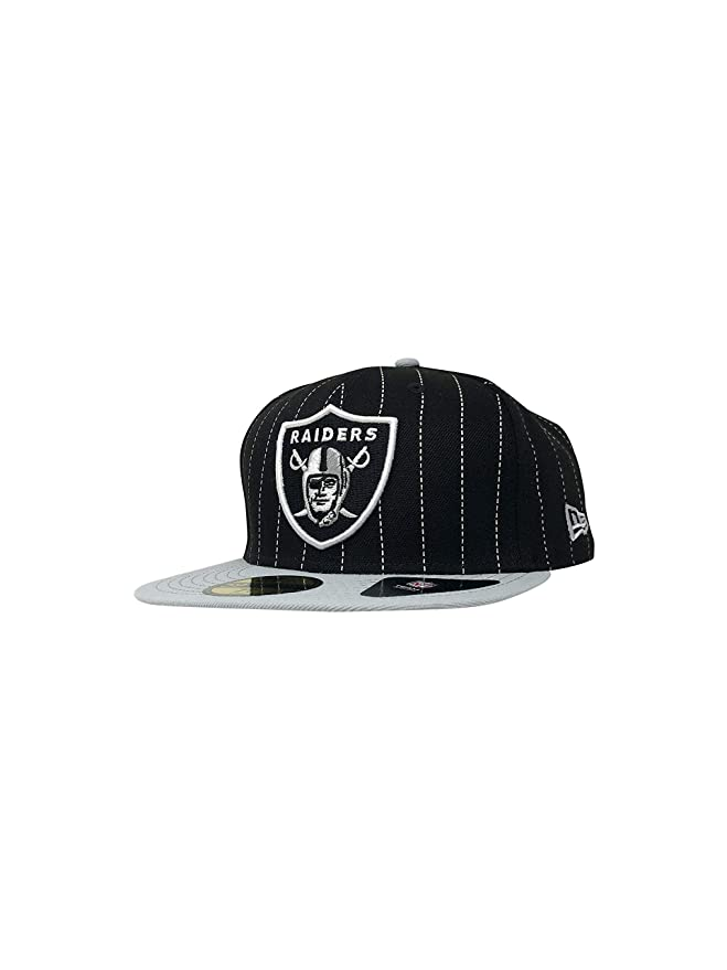 New Era 59Fifty Gorra de béisbol Ajustada de los Oakland Raiders ...
