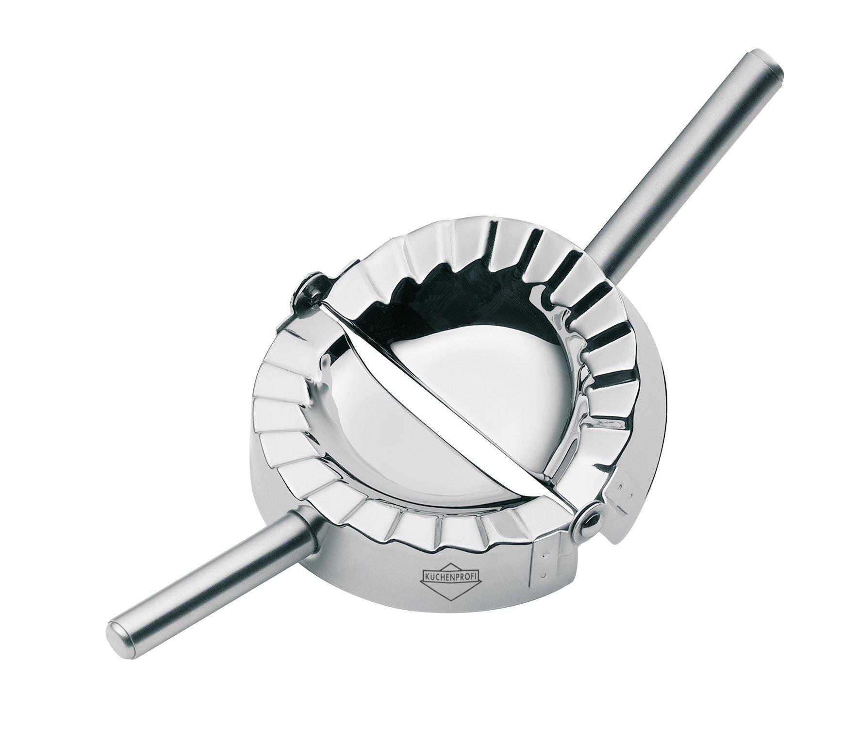 Kuechenprofi Ravioli Dumpling Maker, 4''-Medium, Silver