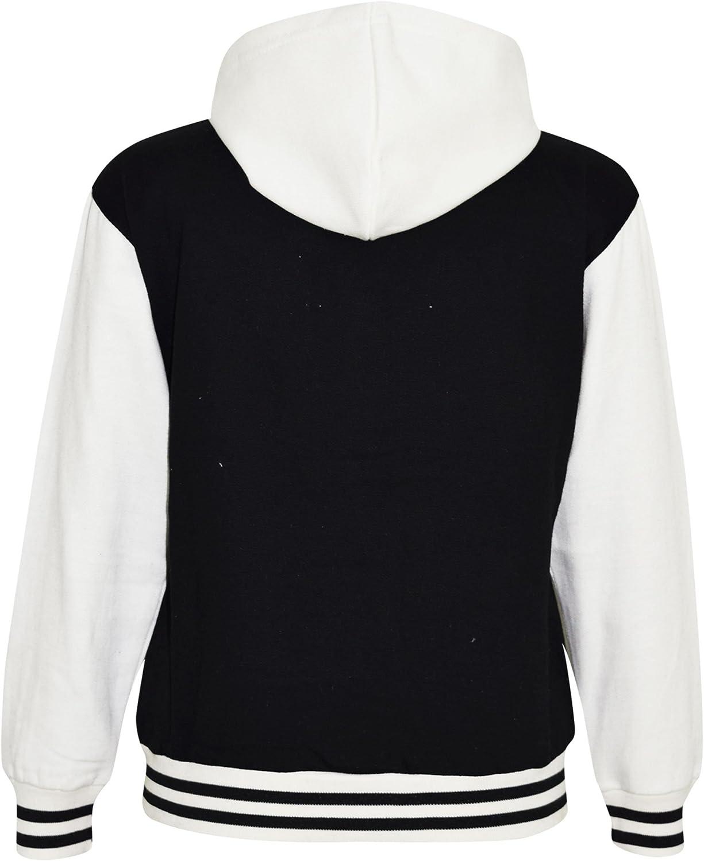 JH01J AWDis Kids Hoodie Childs Girls Boys Plain Hoody Hooded Sweatshirt New