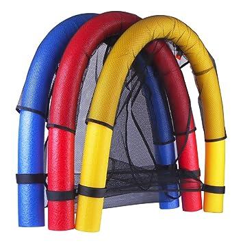 Asiento flotador de malla para piscina, para niños y adultos, de Zerlar: Amazon.es: Deportes y aire libre
