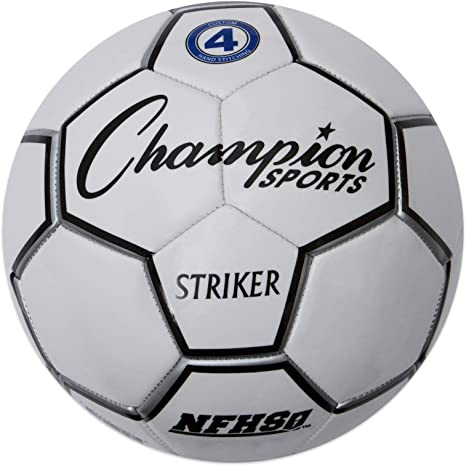 CHAMPION SPORTS Striker - Balón de fútbol (Talla 3): Amazon.es ...