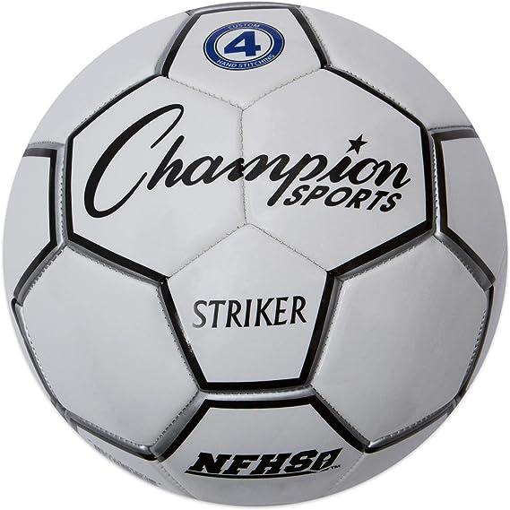 CHAMPION SPORTS Striker - Balón de fútbol (Talla 3): Amazon.es ...