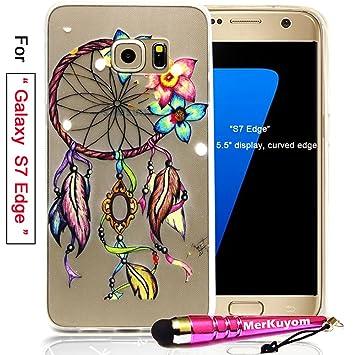Amazon.com: merkuyom Galaxy S6 Carcasa, Galaxy S6 Edge, S6 ...