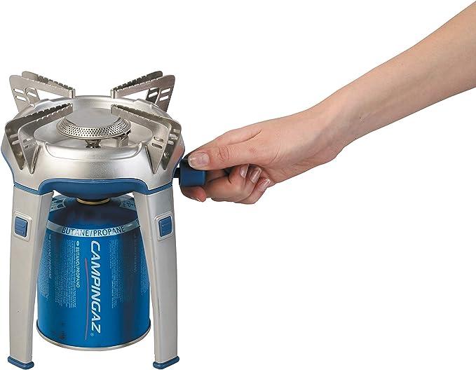 Campingaz Bivouac - Hornillo portátil para Acampada, Color Azul