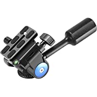"Neewer Camera Tripod Handle Ball Head with 1/4"" QR Plate,3-Dimensional 360 Degree Rotation for Tripod,Slider,DSLR Camera…"
