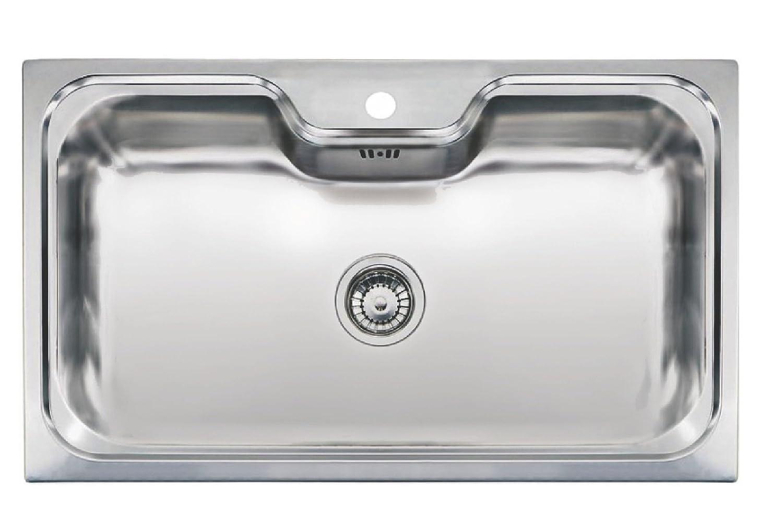 Reginox JUMBO Extra Large 1.0 Bowl Inset Stainless Steel Sink ...