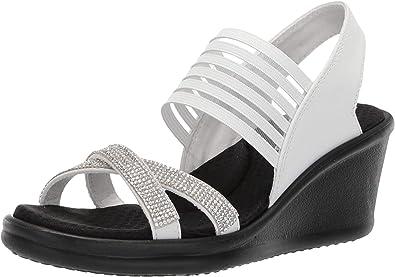 Rumblers-Modern Maze Wedge Sandal