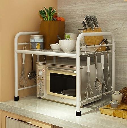 Muebles de cocina Cocina Estante Planta Horno de microondas ...