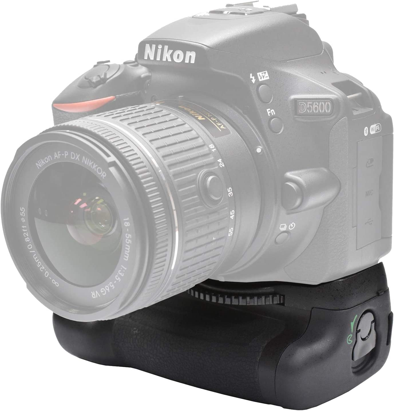 Charger 2-Pk EN-EL14a Long-Life Batteries Battery Grip Bundle F//Nikon D5600: Includes Vertical Battery Grip UltraPro Accessory Bundle