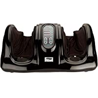 Skyflag Electric Shiatsu Kneading Rolling Foot Massager For Pain Relief With Remote Control - Black