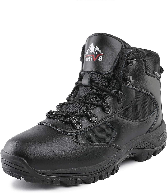 Men/'s Low Top Waterproof Hiking Boots Outdoor Lightweight Trekker Work Shoes