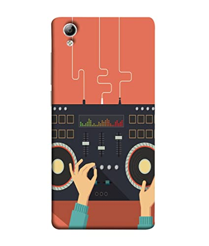 premium selection a954f 590ff VIVo Y51, VIVo Y51L Back Cover Dj Design Over: Amazon.in: Electronics