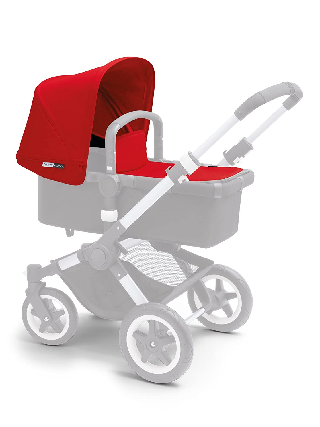 Bugaboo Buffalo Tailored Fabric Set, Red 440111RD01
