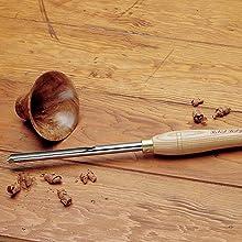 Fingernail Bowl Gouge, 1/2inch