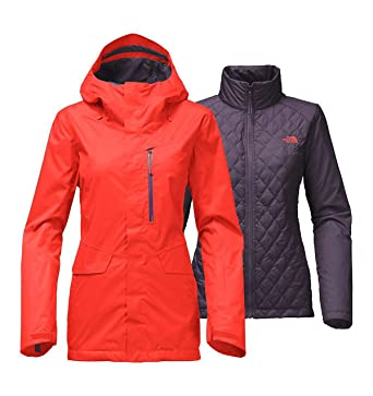 4ad3cd46166 Image Unavailable. Image not available for. Color  The North Face womens Thermoball  Triclimate Jacket ...