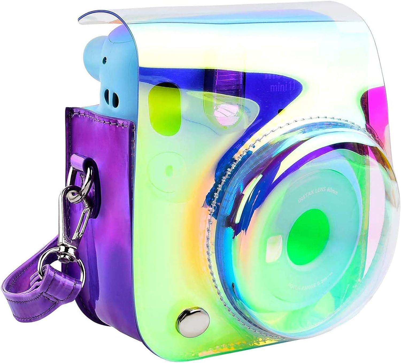 Schutzhülle Und Tragbare Tasche Kompatibel Mit Fujifilm Instax Mini 11 Sofortbildkamera Mit Zubehörtasche Und Verstellbarem Gurt