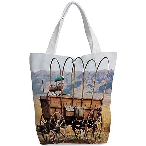 c52b8648313d Amazon.com  iPrint Canvas Shopping bag