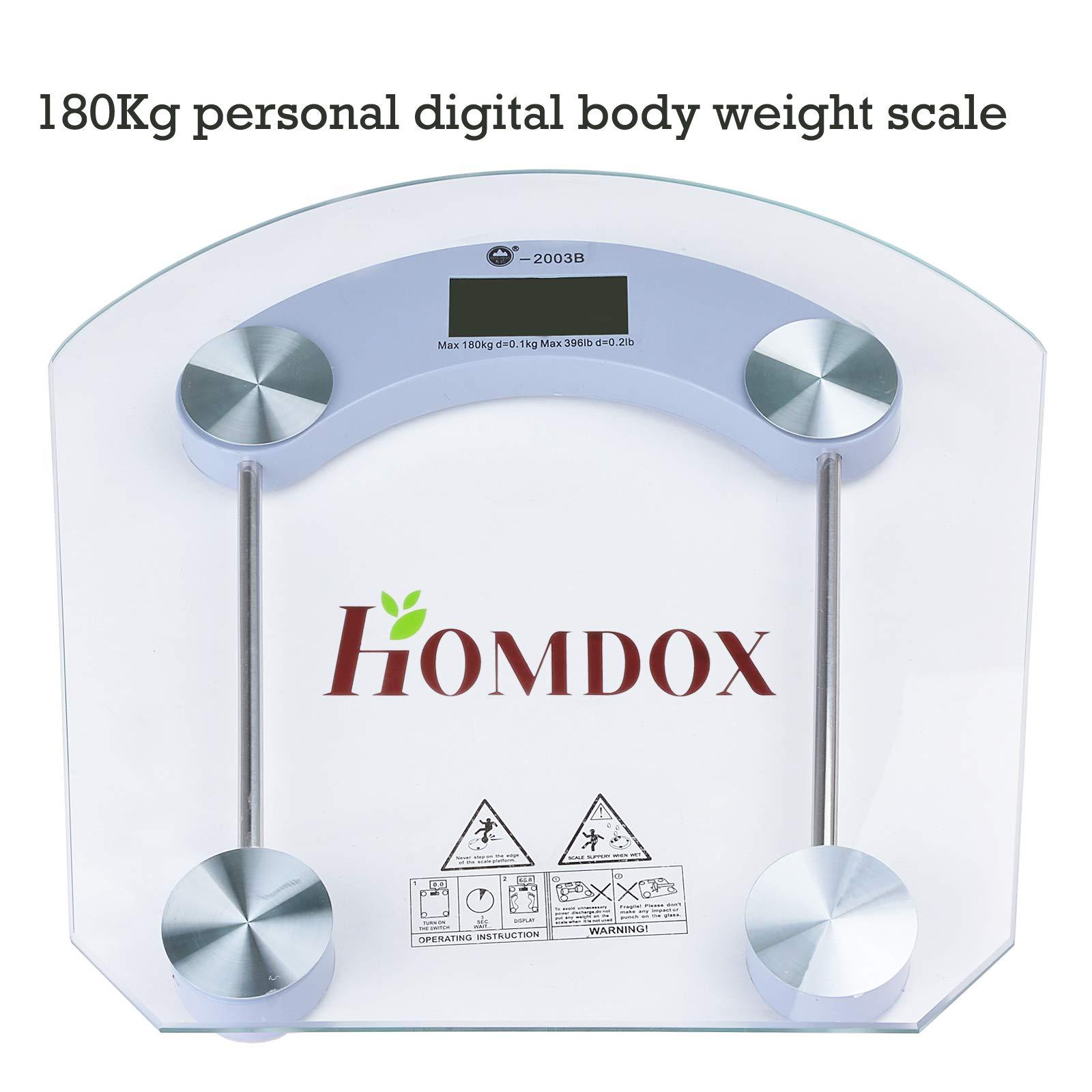 Body Fat Scale Digital Bathroom Weight Scales