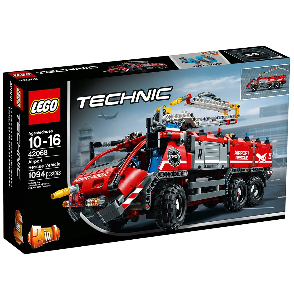 $99.99 (was $129.99) LEGO 42069 Technic Airport Rescue Vehicle Building Kit, 1094 Piece