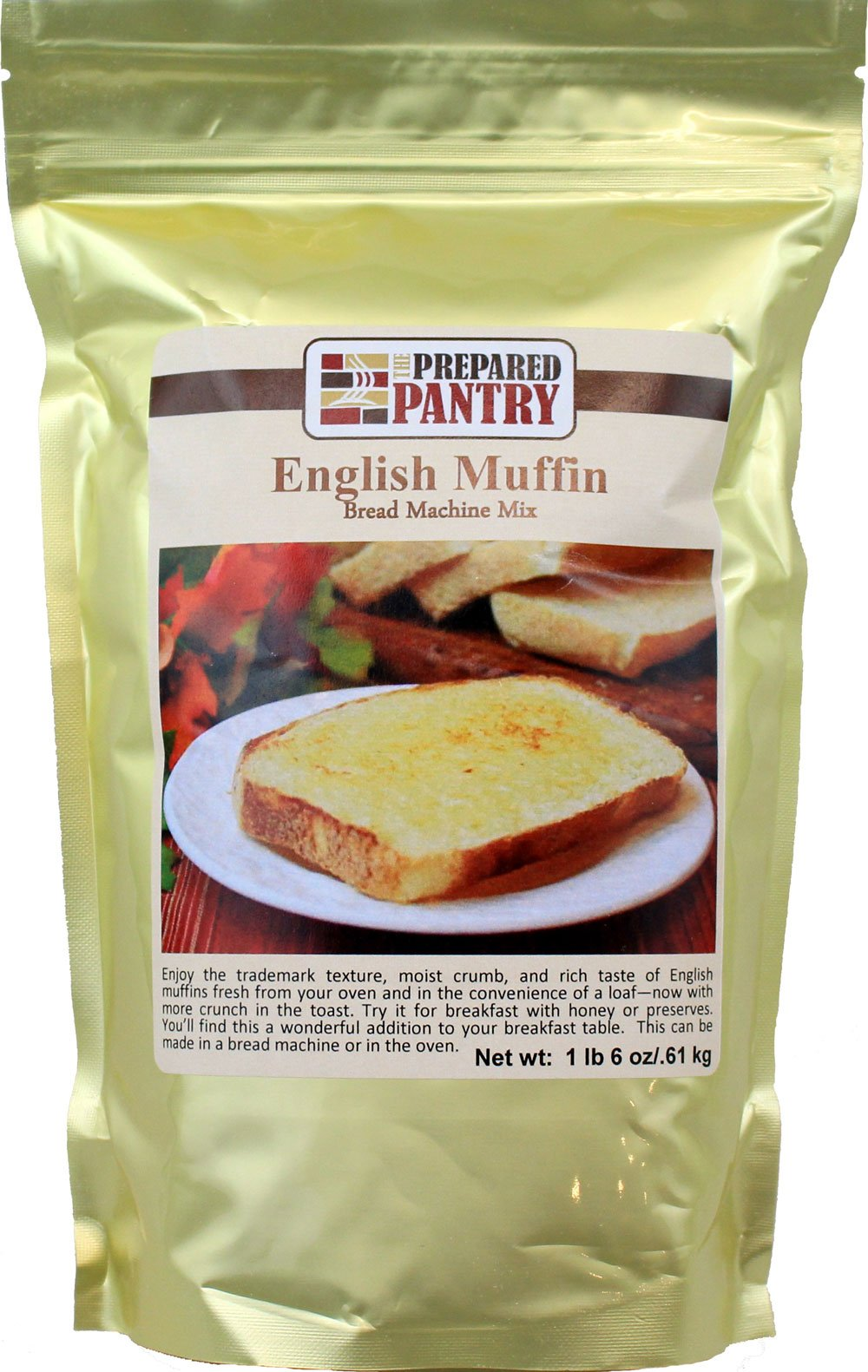 The Prepared Pantry English Muffin Bread Machine Mix, 22 Ounce (Pack of 20) by The Prepared Pantry (Image #1)