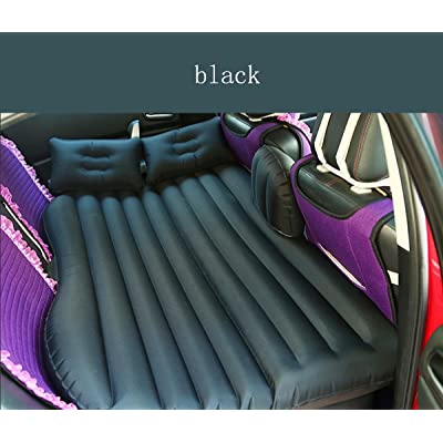 Matelas gonflable Lit voiture Portable pour voyage Outdoor, Housse de gonflage de voyage Plus épais Dos Coussin d'assise Matelas gonflable pour SUV, gratuit Pompe à air électrique