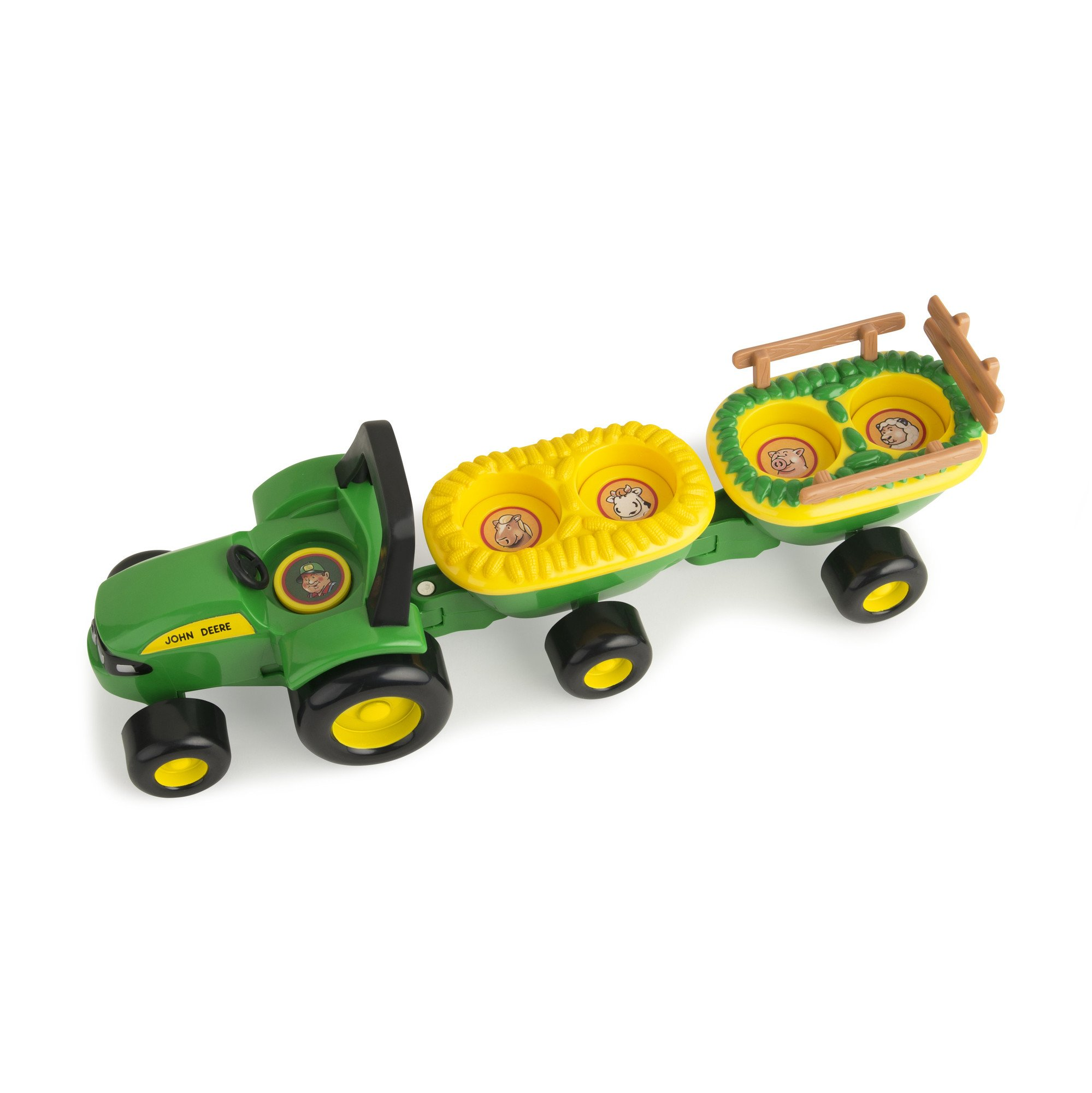 TOMY John Deere Animal Sounds Hayride by TOMY (Image #2)
