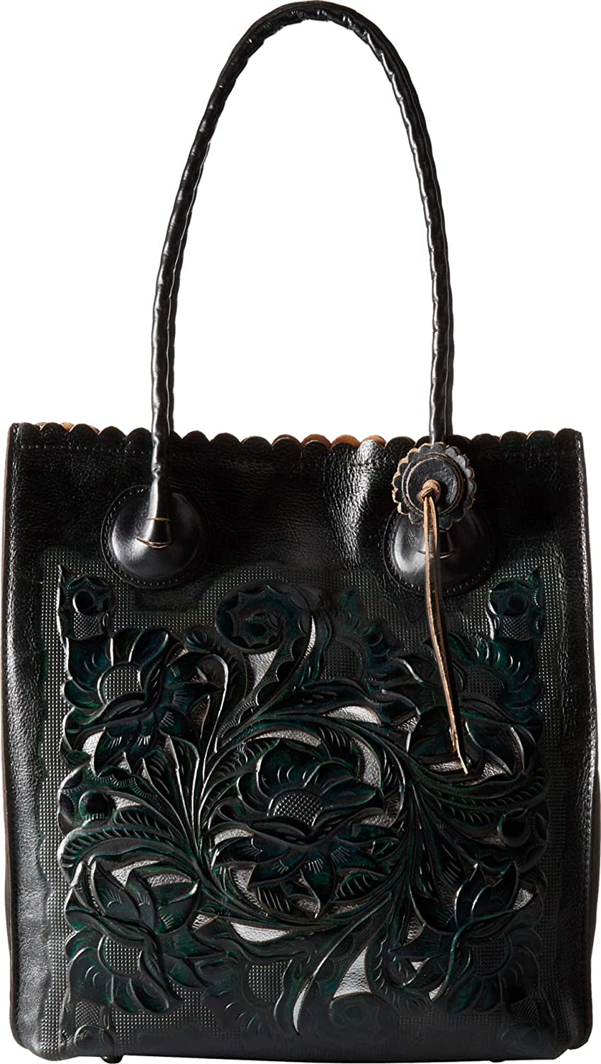 Amazon.com  Patricia Nash Women s Cavo Tote Dark Teal One Size  Shoes 2c6a05ed24