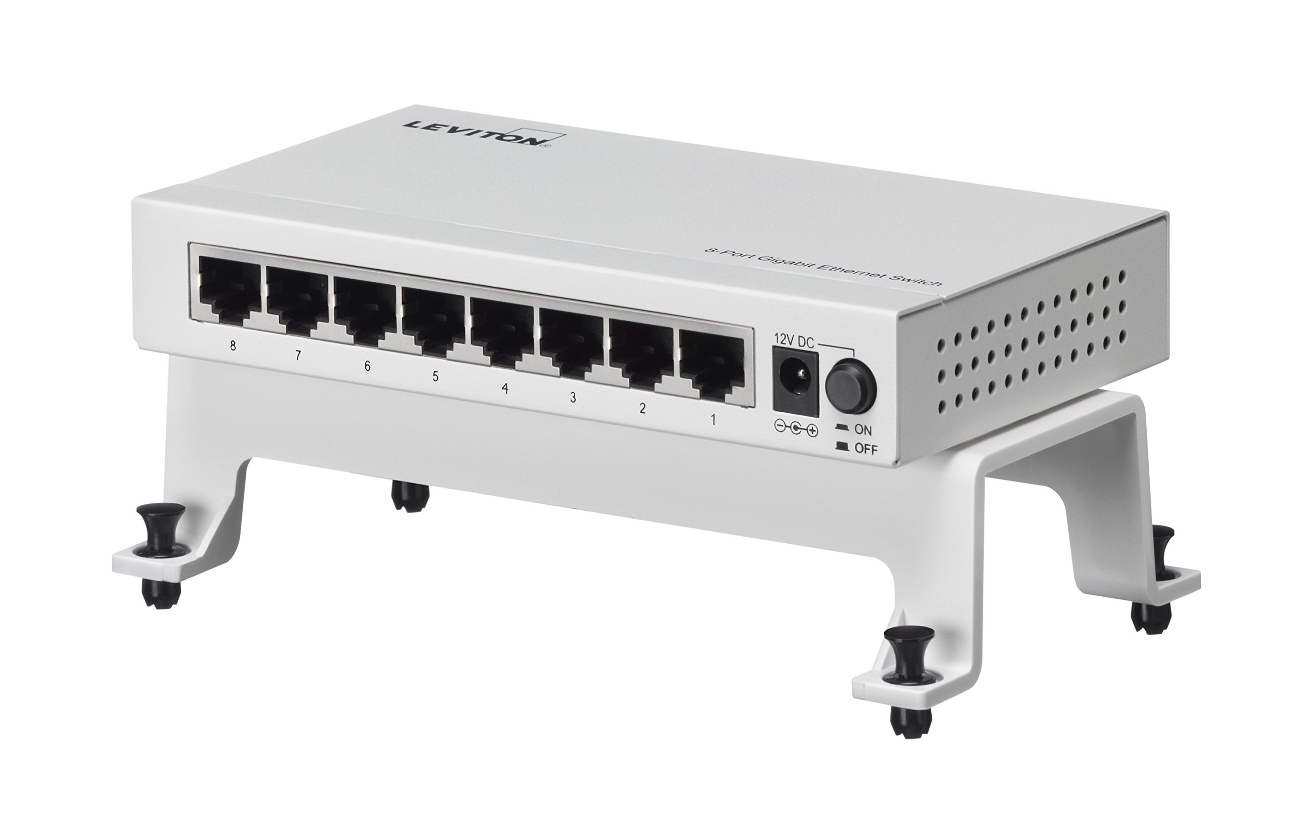 Leviton 47611-8GB 10/100/1000 Mbps 8-Port Gigabit Switch