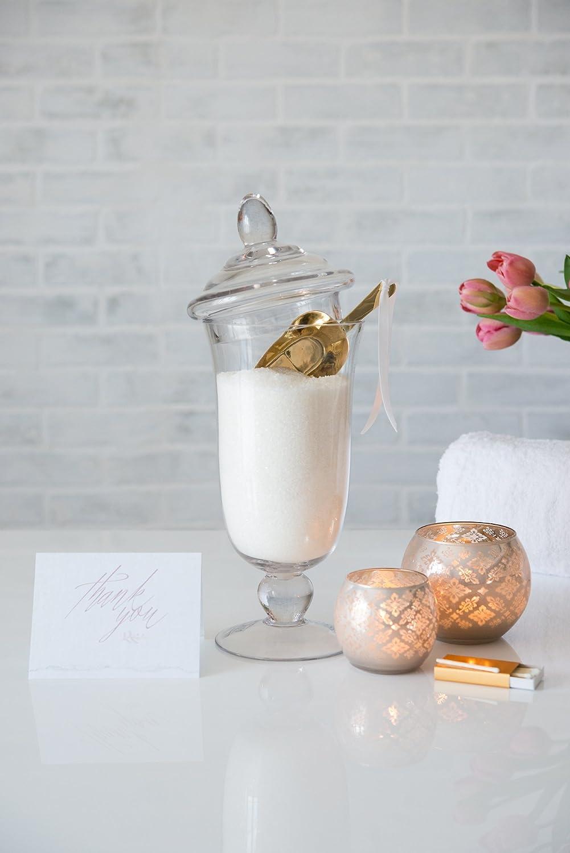 Bonbonni/ère en verre Bowl 35/cm/ /Candy Bar Bocal Bocal en verre avec couvercle