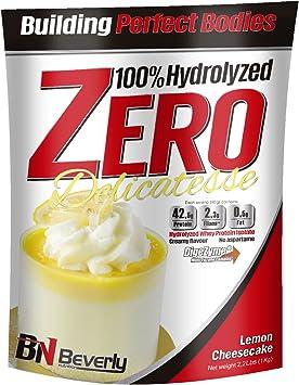 Beverly Nutrition Exclusive para la fórmula de proteína hidratada ABSat40 Delicatesse Zero Professional - 42.5 gramos de proteína por porción. - 1 KG ...