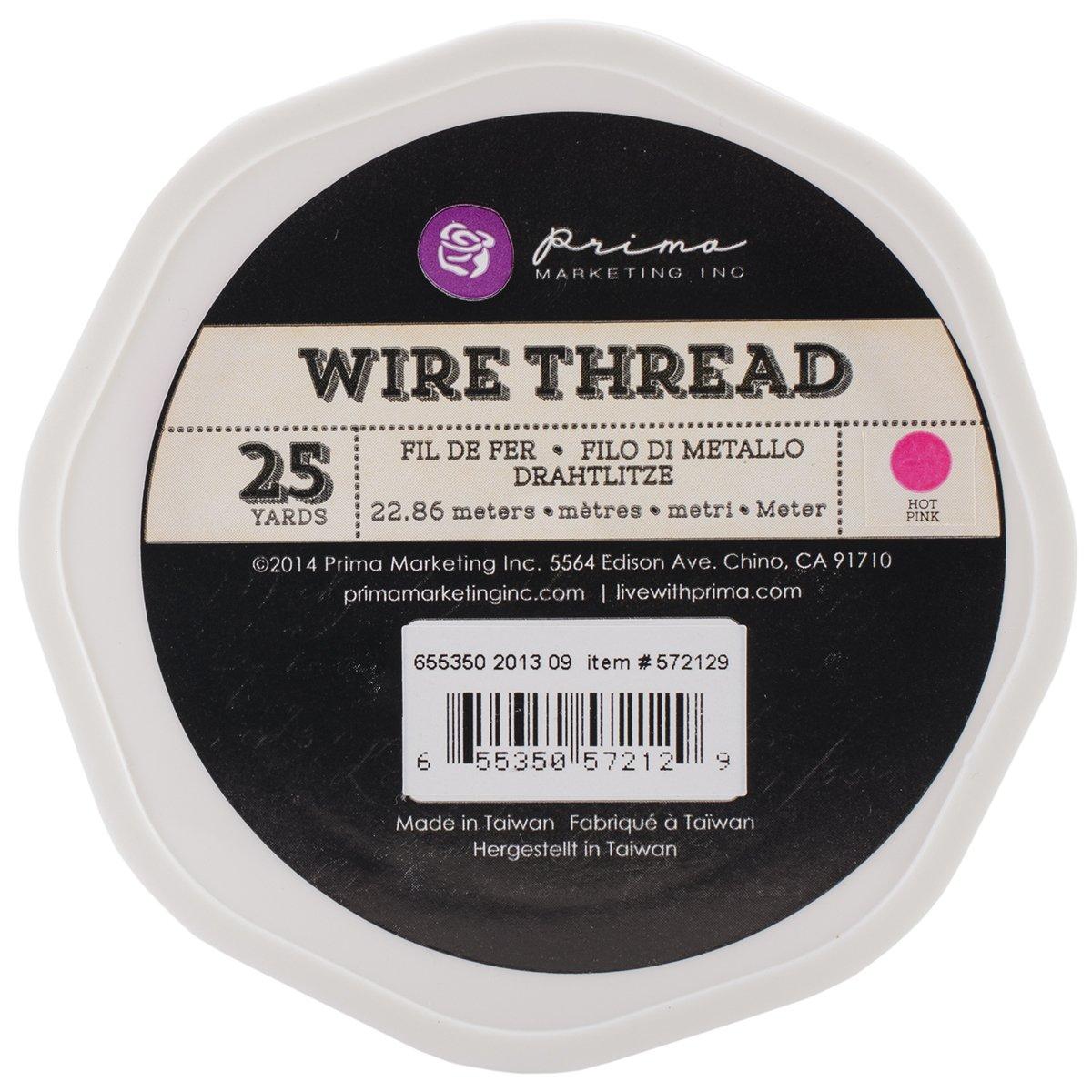 Wire Thread 25yd-Hot Pink (並行輸入品)   B00IU2GTQ4